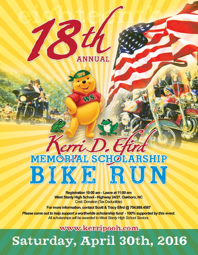 Bike Run Flyer 2016